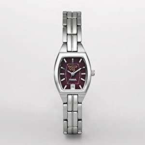 Fossil Women's LI3046 NCAA Virginia Tech Hokies Watch