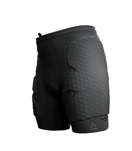 McDavid 7740 - Pantaloncini da portiere di calcio, modello Guard, Nero, XXL