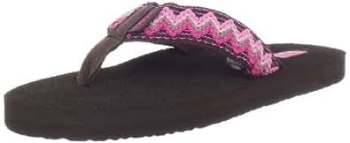 Teva Women's Mush II Natural Flip Flop,Fiesta Pink,6 M US