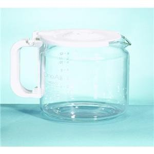 Medelco 12 Cup Glass Eurostyle Universal Replacement Carafe - White