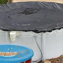12' Round Above Ground Pool Cover Ultra Armor Max 8 Year Warranty