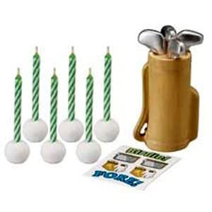 Wilton Candle Topper Set - Golf