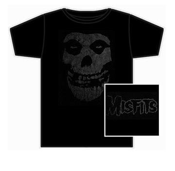 Misfits 'Fiend Skull' 2-sided black t-shirt (X-Large)