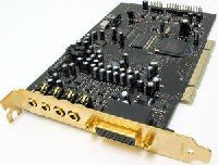 Creative SB0460 Sound Blaster X-Fi XtremeMusic PCI Audio Card