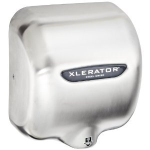 Xlerator Xl-Sb Automatic High Speed Hand Dryer With Brushed Stainless Steel Cover, 12.5 A, 110/120 V