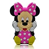 Disney 3d Cartoon Mickey Mouse Soft Silicone Case Cover for Iphone 3g 3gs
