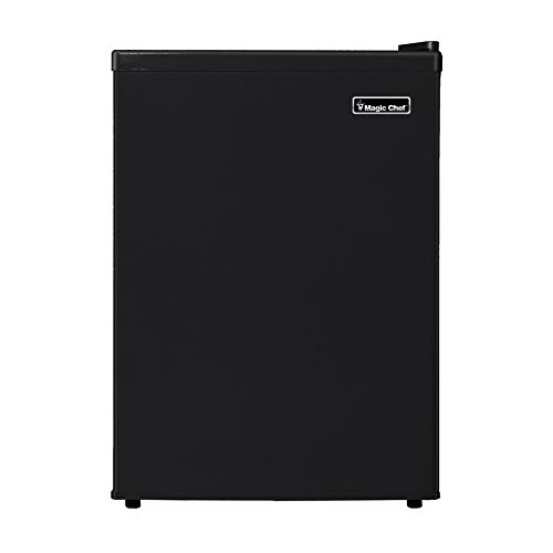 Magic Chef MCBR240B1 Refrigerator, 2.4 cu. ft., Black (Compact Cooking Appliances compare prices)