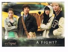 The Twilight Saga - Eclipse Premium Trading Cards - #74 - A Fight?