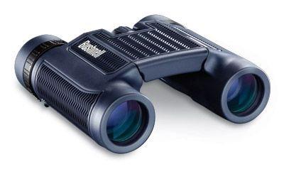 Bushnell H2O 12X25 Black Folding Binoculars, Clam Pack 132105C