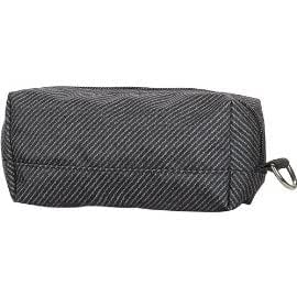 Thirty-One Zip-Up Pencil Pouch Textured Twill
