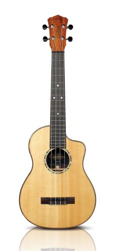 Cordoba 32T-Ce All Solid Tenor Cutaway Electric Ukulele