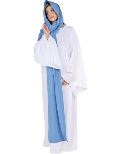 Virgin Mary Costume Christmas Play theater Production Pagent Religious Costume