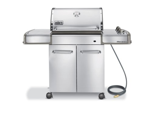 Weber 3870001 Genesis S-310 Natural Gas Grill, Stainless Steel