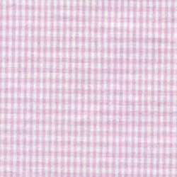 Gingham Crib Bumper,Color: Pink front-1024035