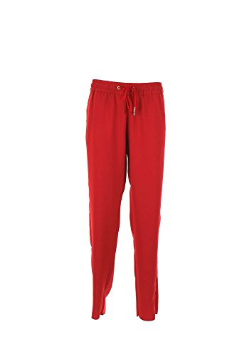 Caractere P300A01114 Pantalone Donna Rosso 48
