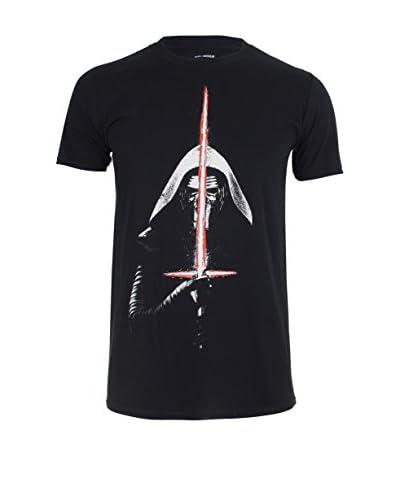Star Wars T-Shirt Kylo Ren Lightsaber schwarz