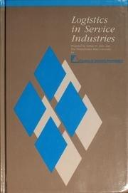 Logistics In Service Industries