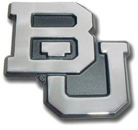 Baylor Bears Premier Chrome Metal Auto Emblem (Baylor Auto Decal compare prices)
