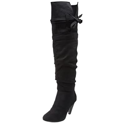 NOT RATED Starlet Synthetic Over the Knee Womens Boots Black Size 11