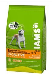 Iams Dog Food Light in Fat Chicken 12kg
