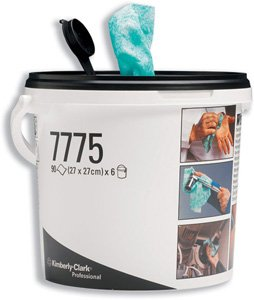 kimberly-clark-wypall-kimtuf-hand-cleaning-wipes-bucket-90-sheets-size-270x270mm-ref-7775