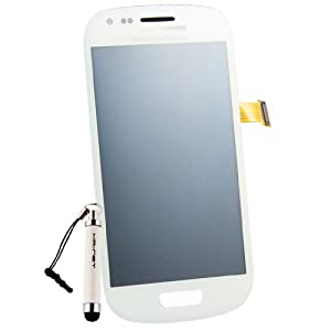Generic Original White Full LCD+Touch Screen Digitizer for Samsung Galaxy S3 Mini I8190