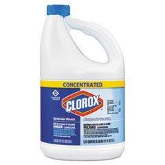 Concentrated Germicidal Bleach, Regular, 121oz Bottle