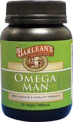 Barlean'S - Omega Man Men'S Health & Vitality Formula 1000 Mg. - 120 Capsules