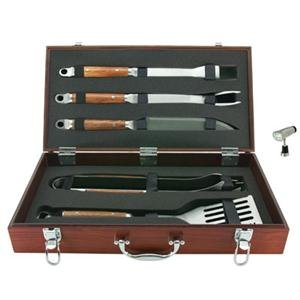 Mr Bar B Q 02136X + 40155X 5 Pc Tool And Light Bundle (02136X + 40155X)