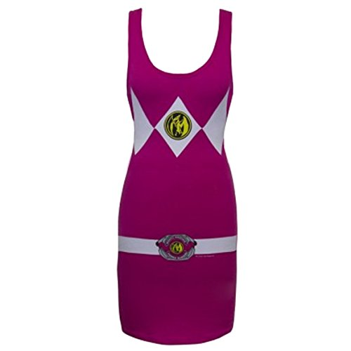 Power Rangers Pink Power Ranger Adult Tank Dress
