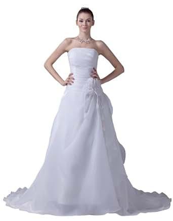 Herafa Wedding Dress Elegant NOw35111 Amazon Fashion