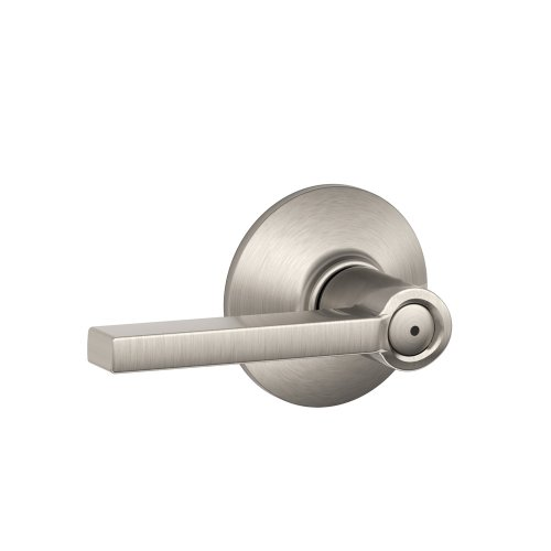 Schlage F40VLAT619 Latitude Style Privacy Lever, Satin Nickel (Commercial Privacy Lever compare prices)