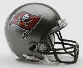 NFL Tampa Bay Buccaneers Replica Mini Football Helmet