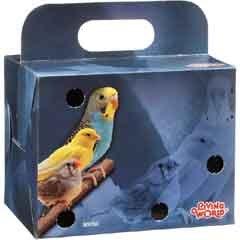 Cheap Living World Bird Carrier Cardboard Box (B0002DGXNS)
