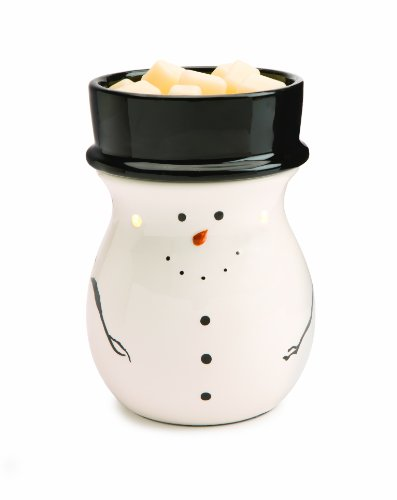 Candle Warmers Etc. Holiday Illumination Fragrance Warmer, Snowman