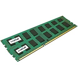 New - Crucial 8GB DDR3 SDRAM Memory Module - CT2KIT51264BA160B