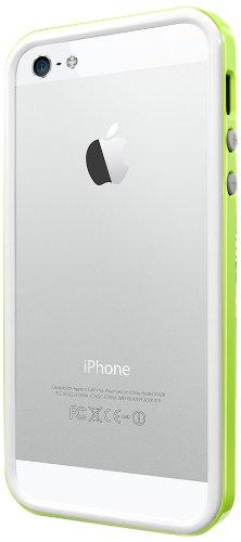 国内正規品SPIGEN SGP iPhone5/5S ケース ネオ・ハイブリッド EX スリム スノーシリーズ [ライム] SGP10029