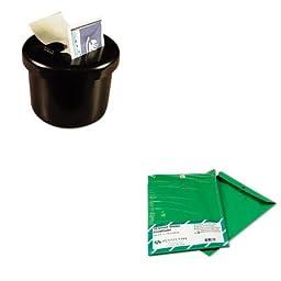 KITLEE40100QUA38735 - Value Kit - Quality Park Fashion Color Clasp Envelope (QUA38735) and Lee Ultimate Stamp Dispenser (LEE40100)