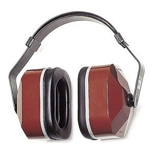 Earmuff, Headband, Noise Reduction, Red
