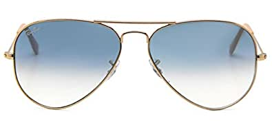 Rb3025 Aviator Sunglasses Gold Frame Crystal Gradient Bl : Amazon.com: Ray Ban Aviator Gradient Rb3025 Sunglasses ...