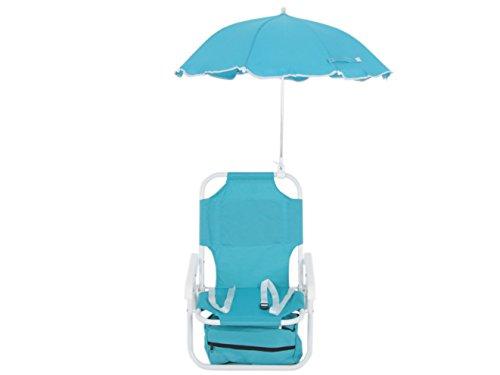 Dajar-Liegen-stuhl-mit-Sonnenschirm-fr-Kinder-blau