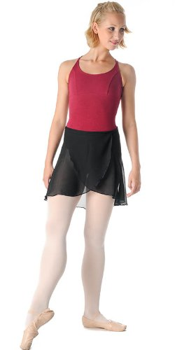 So Danca Ballett Rock Wickelrock E8131 schwarz weiß pink