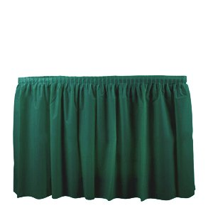 Duni 286416 Dark Green Tableskirt, 29