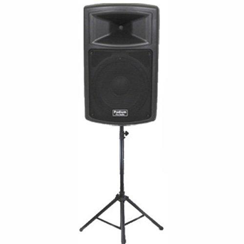 "DJ PA 10/"" Aktiv Lautsprecher Box Bluetooth Monitor Bi-Amping Sound 400 Watt ABS"