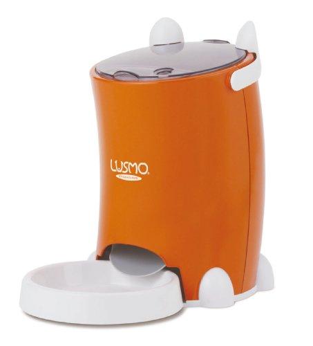 ルスモ (LUSMO) ペットフード・オートフィーダ オレンジ