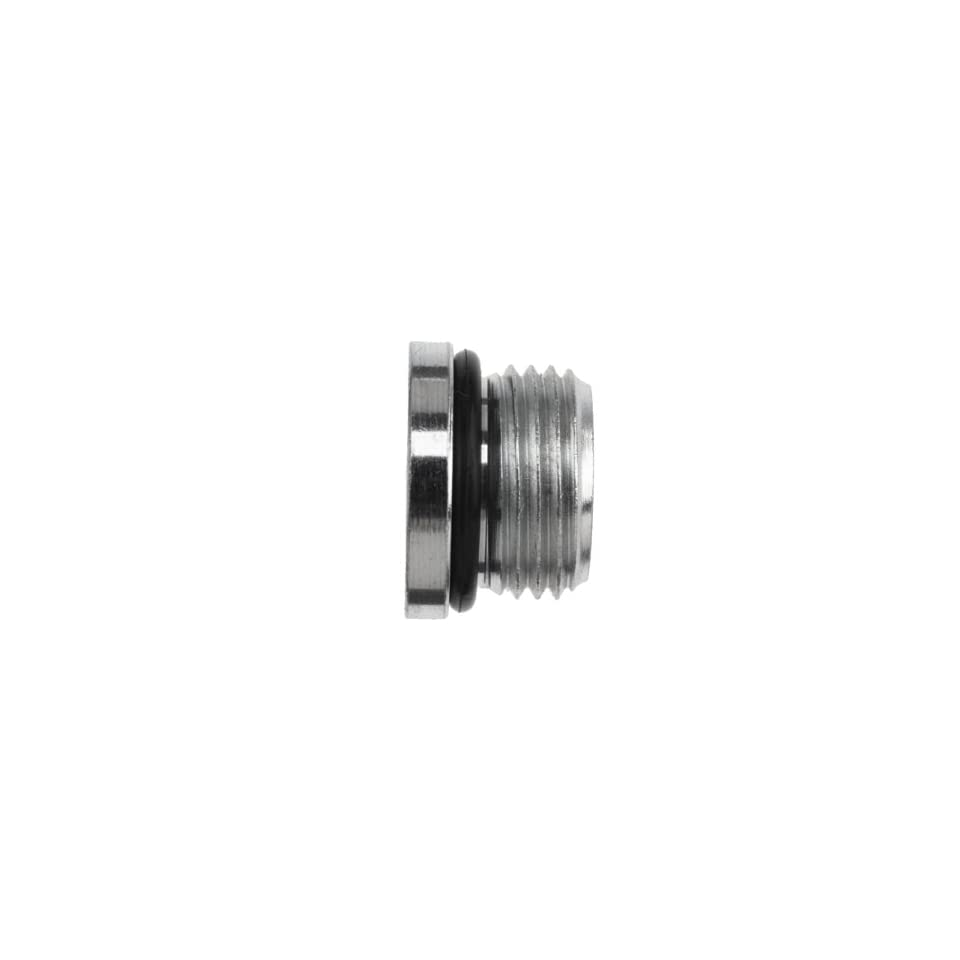 Brennan 6408 H06 O SS, Stainless Steel Tube Fitting, Hex Plug , 3/8 Tube OD, 9/16 18 O ring Boss Thread