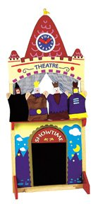 Puppet Theater with Puppets from Callie's Corner