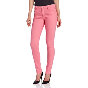 Cheap Monday Women's Mid-Rise Faded Tight Jean, Strawberry Pink, 27