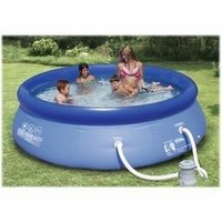 10 x 30 summer escapes quick set pool with for Above ground pools quick set