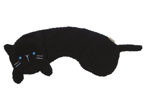 Hot-0 - ice ショルダーピロー rose fragrance (black cat)